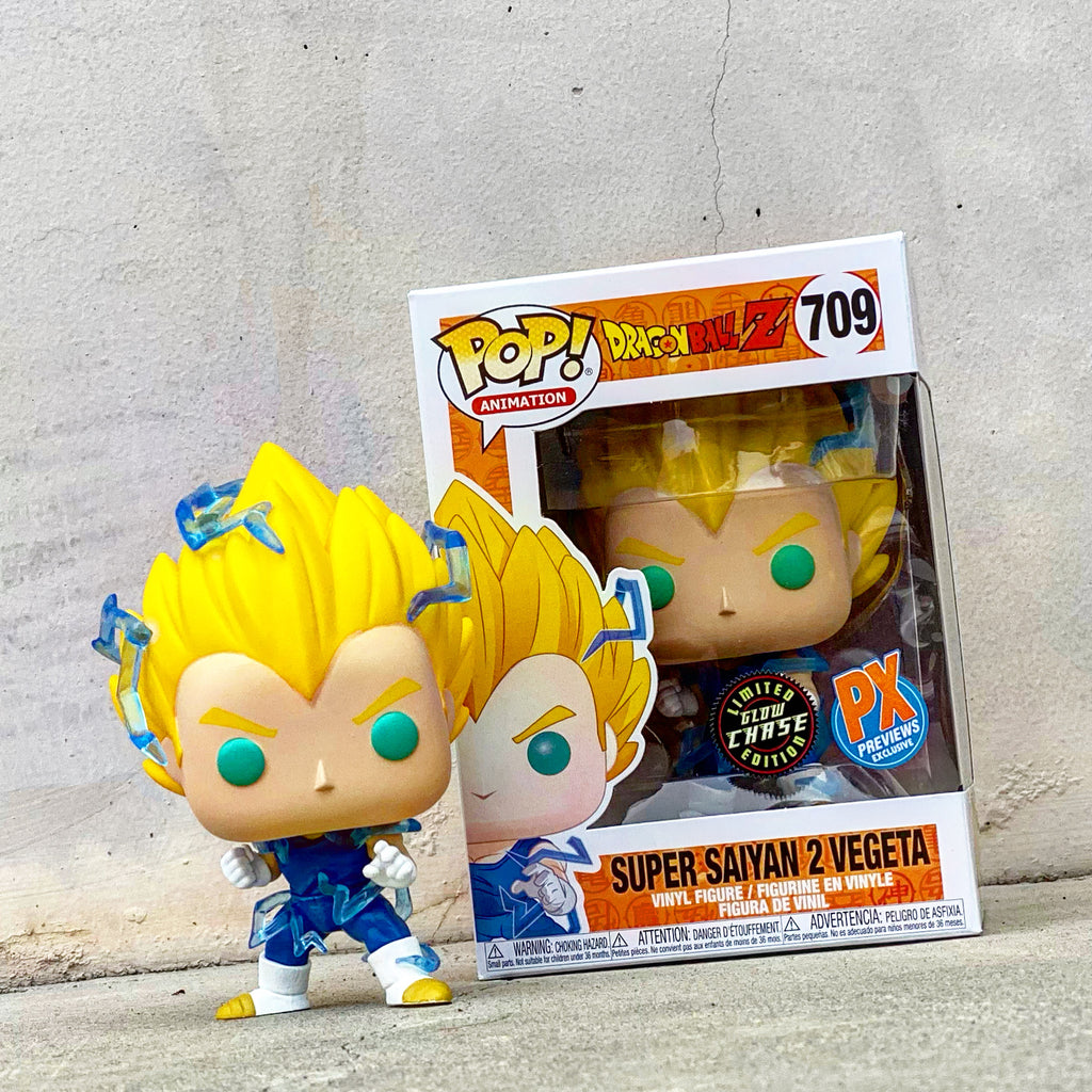 POP! Dragon Ball Super - Set of 2 Super Saiyan 2 Vegeta + Chase Bundle