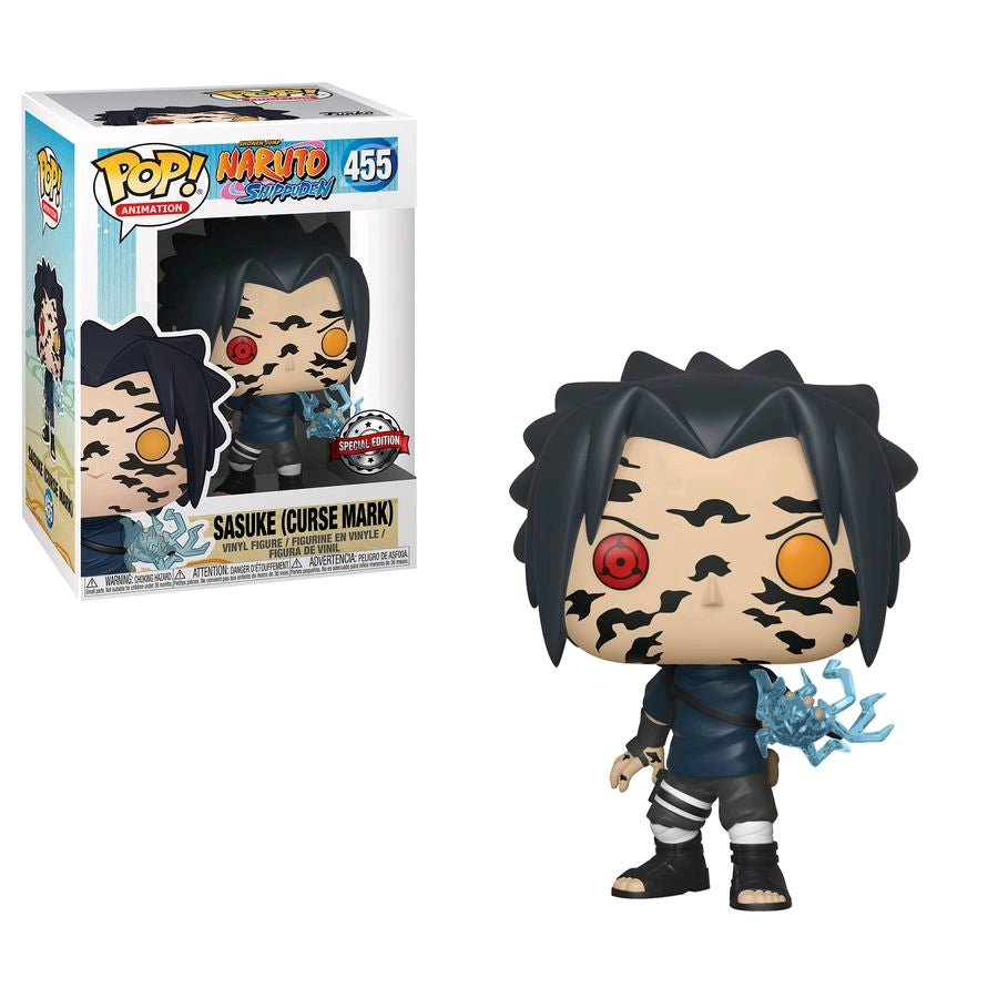 POP! Naruto Shippuden - Sasuke Curse Mark Special Edition Exclusive