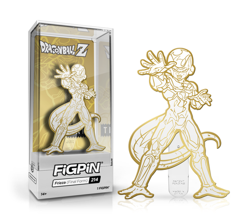 FIGPIN - Dragon Ball Z - Frieza Final Form White Gold - Bait SDCC Exclusive LE 1000