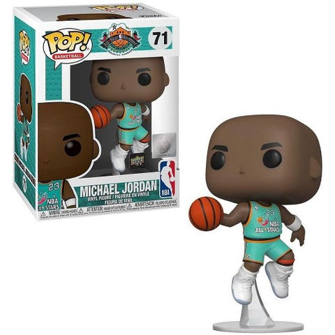 POP! Basketball NBA - Michael Jordan ASG All Stars Jersey - UpperDeck Exclusive
