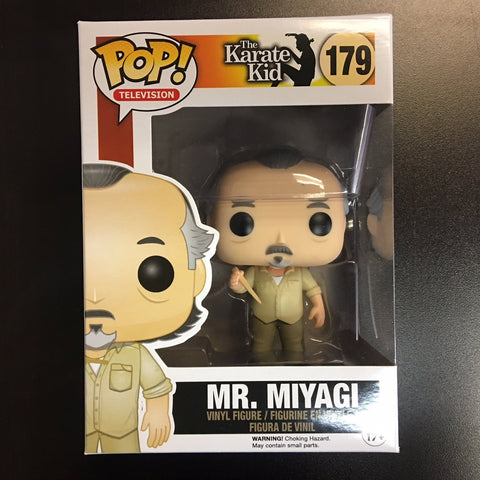 POP! Movies - The Karate Kid - Mr. Miyagi VAULTED