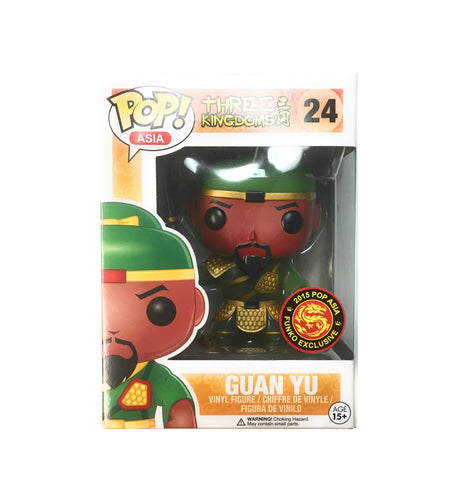 POP! Asia - Three King Romance - Guan Yu Glow In The Dark - 2015 Exclusive