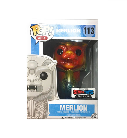 POP! Asia - Merlion Sunburst - Singapore Exclusive