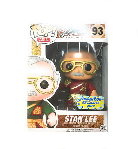 POP! Marvel - Stan Lee Guan Yu Red - 2017 Convention Exclusive
