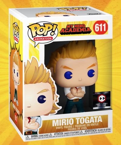 FUNKO POP! MIRIO TOGATA MY HERO ACADEMIA #611 CHALICE COLLECTIBLES EXCLUSIVE PRE-ORDER