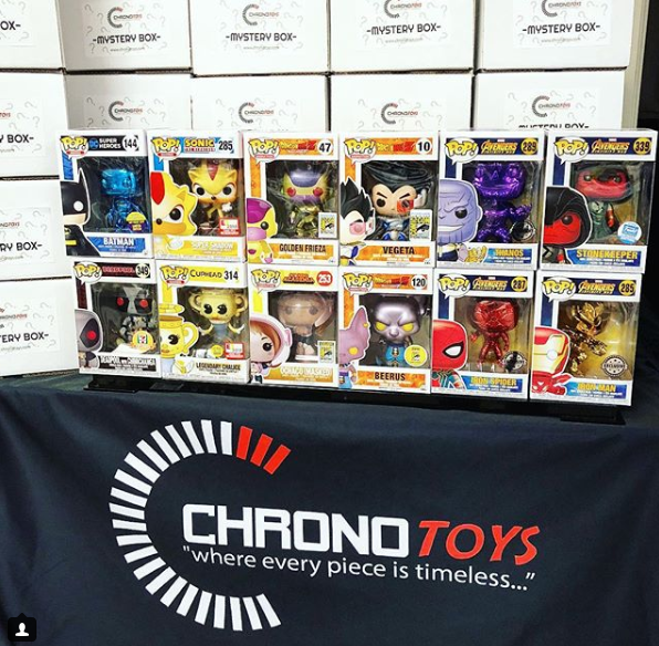 Chrono Toys 2018 Anime Expo Mystery Box