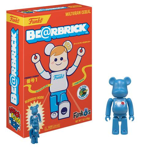FunkO's Cereal Exclusive - Be@rbrick Bearbrick x Funko - Designer Con Limited Edition