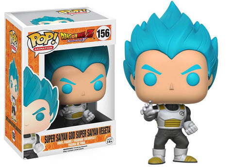 POP! Animation - Dragonball Z - SSGSS Vegeta Blue - Vaulted
