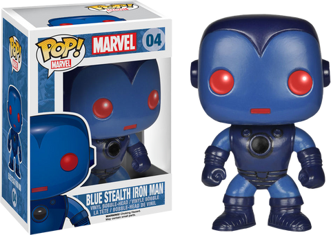 POP! Marvel - Blue Stealth Iron Man