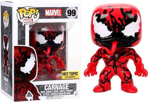Funko POP Marvel Spider-Man Carnage - Hot Topic Exclusive