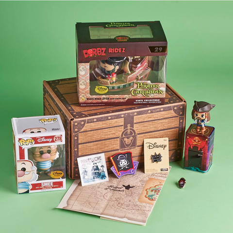 Funko Disney Treasures Subscription Box - Pirates Cove