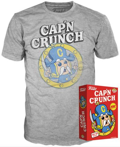Funko POP! Tee - Captain Crunch - Designer Con Limited Edition 1000pcs (SIZE: LARGE)