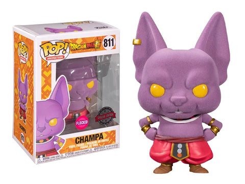 POP! Dragon Ball Super - Champa (Flocked) Special Edition Exclusive