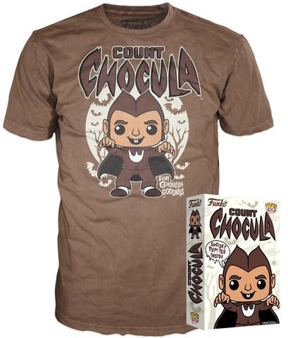 Funko POP! Tee - Count Chocula - Designer Con Limited Edition 1000pcs (SIZE: LARGE)