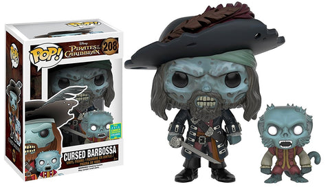 POP! Disney - Pirates of the Caribbean - Cursed Barbossa - 2016 Summer Convention Exclusive