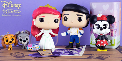 POP! Disney Treasures Box Ever After Castle - Ariel & Eric 2 Pack