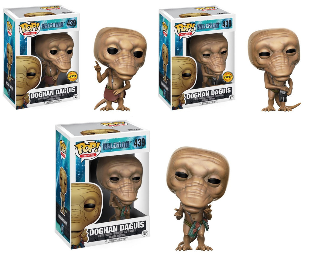 POP! Movies - Doghan Daguis (Black Bag, Brown Bag, Green Bag) Chase Bundle Set