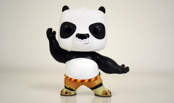 POP! Asia Only Exclusive - Kung Fu Panda - Fighting PO
