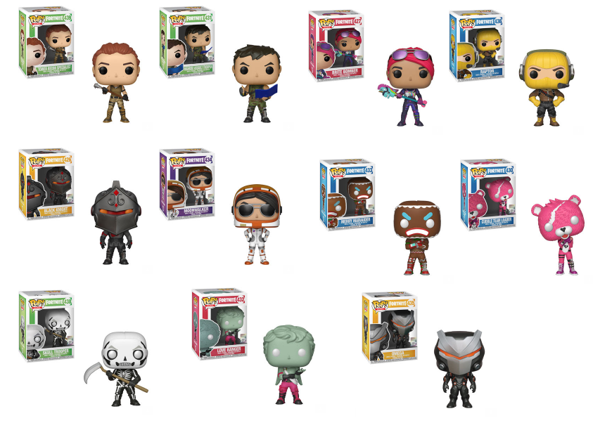 POP! Games - Fortnite Complete Set of 11 Bundle