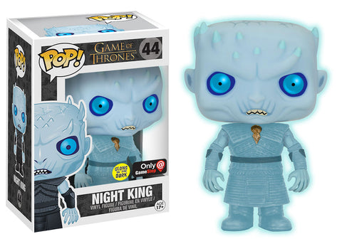 Funko POP Game of Thrones Night King Glows in the Dark GITD - GameStop Exclusive
