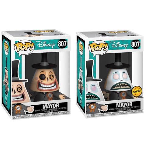 POP! Nightmare Before Christmas - Mayor Chase + Common Bundle
