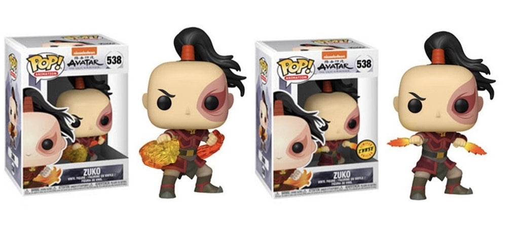 POP! Avatar The Last Airbender - Zuko Chase + Common Bundle