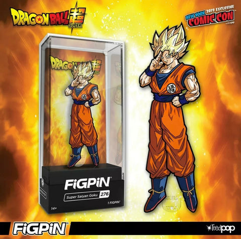 FigPiN - Super Saiyan Goku NYCC Exclusive