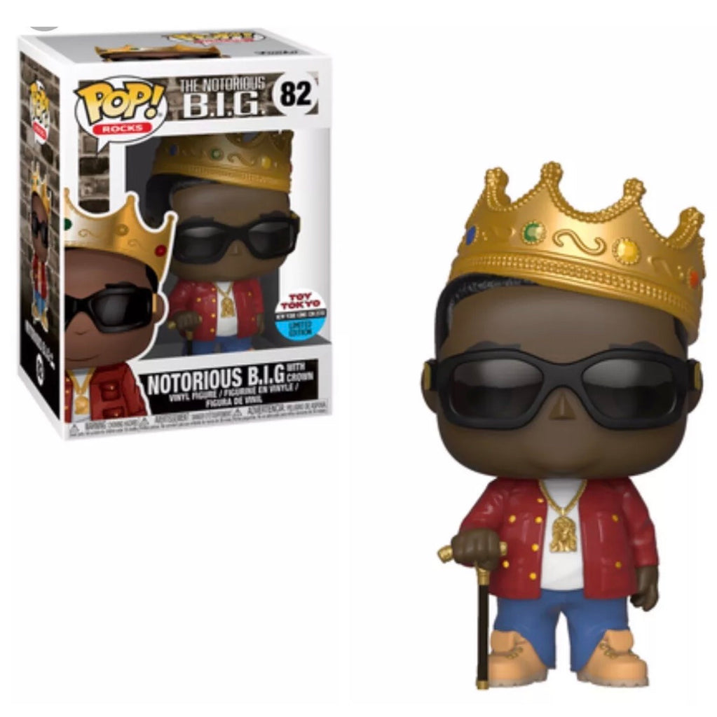 POP! Rocks - Notorious B.I.G. Biggie Red Jacket - Toy Tokyo / NYCC Exclusive