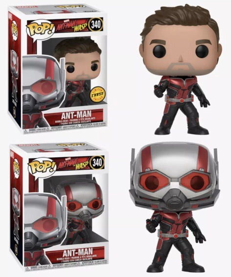 POP! Marvel - Ant Man And Wasp (1:5 Ratio For Chase)