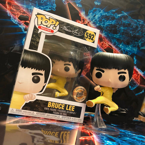 POP! Movies - Bruce Lee Flying Kick - NYCC Release