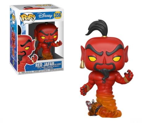 POP! Disney - Aladdin Red Jafar As Genie