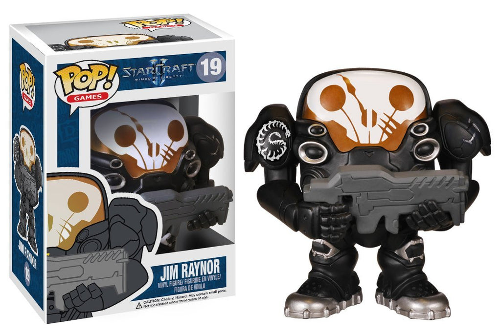 POP! Games - Starcraft 2 Jim Raynor - Vaulted