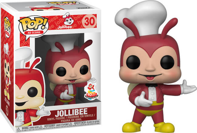 POP! Ad Icons - Jollibee 40th Anniversary - Pop Asia Exclusive