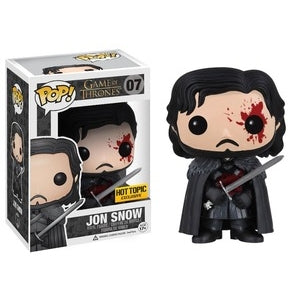Funko POP Game of Thrones Jon Snow Bloody - Hot Topic Exclusive