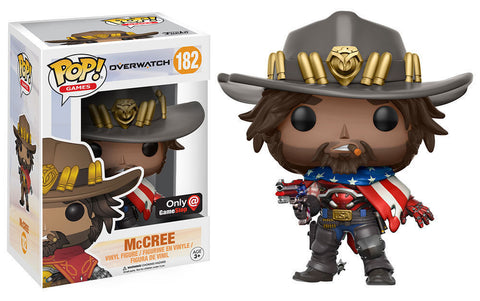 Funko POP Overwatch MCcree USA - GameStop Exclusive