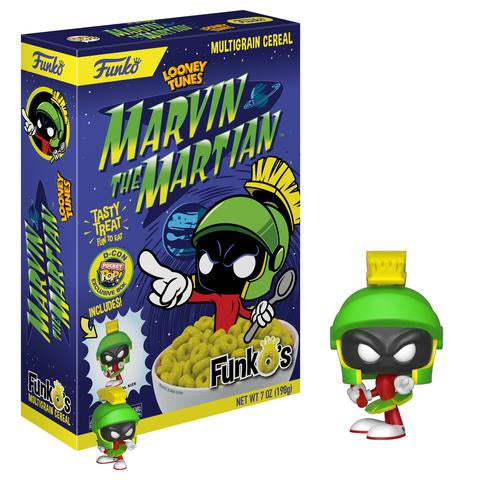 FunkO's Cereal Exclusive - Marvin The Martian - Designer Con Limited Edition