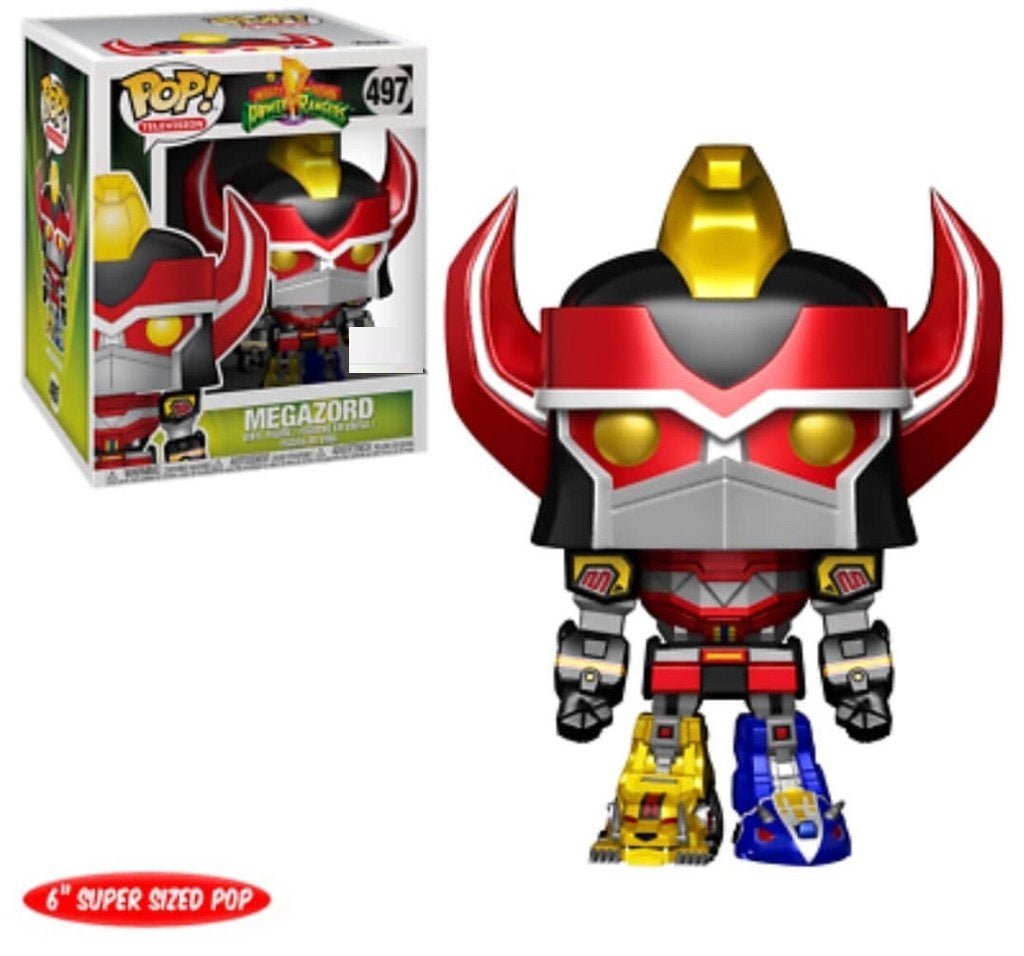 POP! Power Rangers Megazord Metallic Exclusive