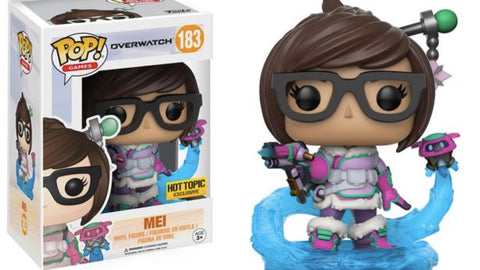 POP! Overwatch - Mei Blizzard - Hot Topic Exclusive