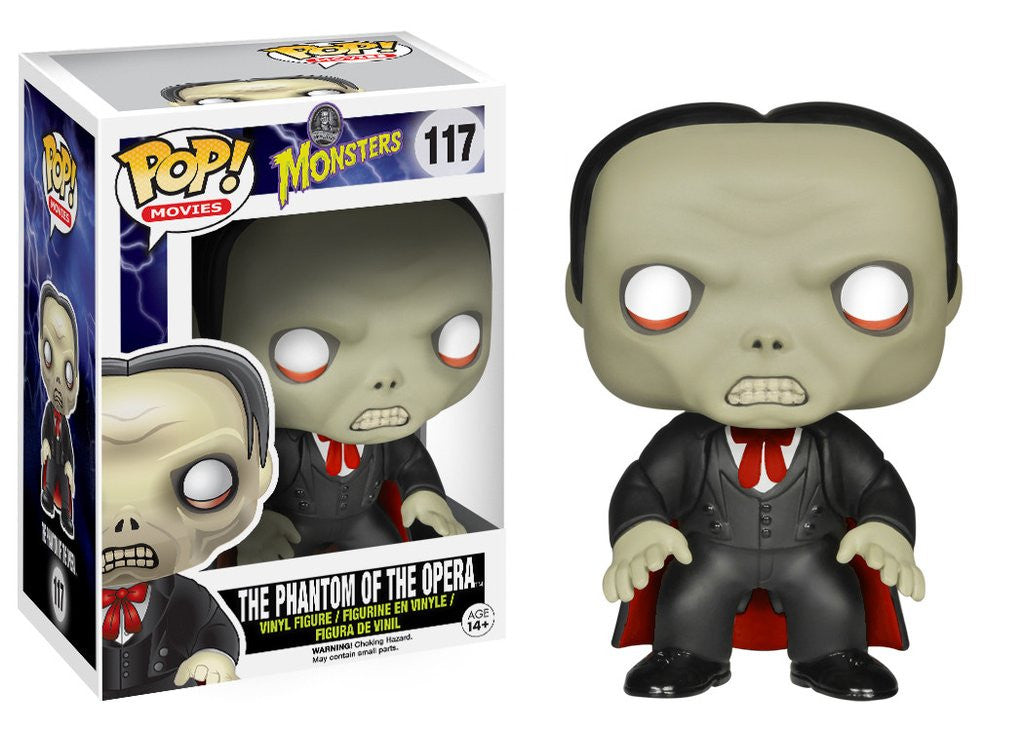 POP! Movies - Universal Monsters - Phantom Of The Opera - Vaulted