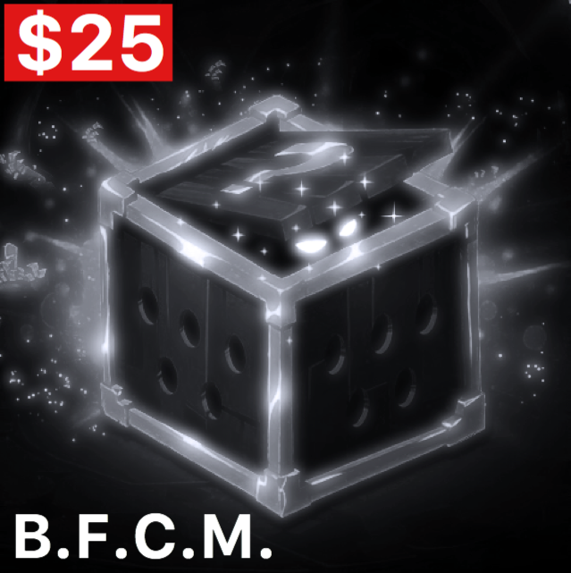 [Limited-Time Event] Chrono Toy's B.F.C.M. High Roller Mystery Box