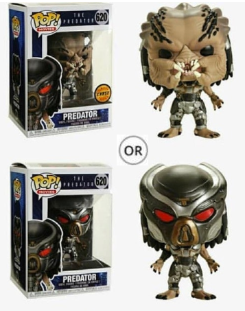 POP! Movie - The Predator - Predator ( 1:5 Ratio for CHASE )