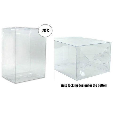 "Pack of 20 - Funko POP! 4"" 0.5mm Plastic Protector Bundle"