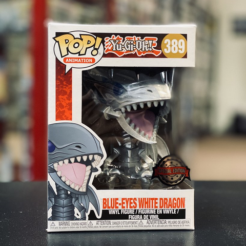 POP! Yu Gi Oh - White Eyes Blue Dragon Silver Special Edition / Boxlunch