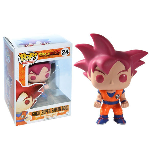 POP! Animation - Dragonball Z - Goku Super Saiyan God Red