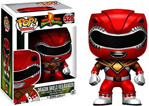 POP! Mighty Morphing Power Rangers - Red Ranger Dragon Shield