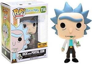 POP! Rick & Morty - Rick with Portal Gun - Hot Topic Exclusive