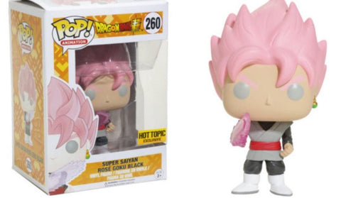 POP! Animation - Dragonball Z Super - Super Saiyan Rose Goku Black - Hot Topic Exclusive