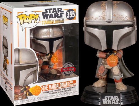 POP! Star Wars The Mandalorian Flamethrower Special Edition