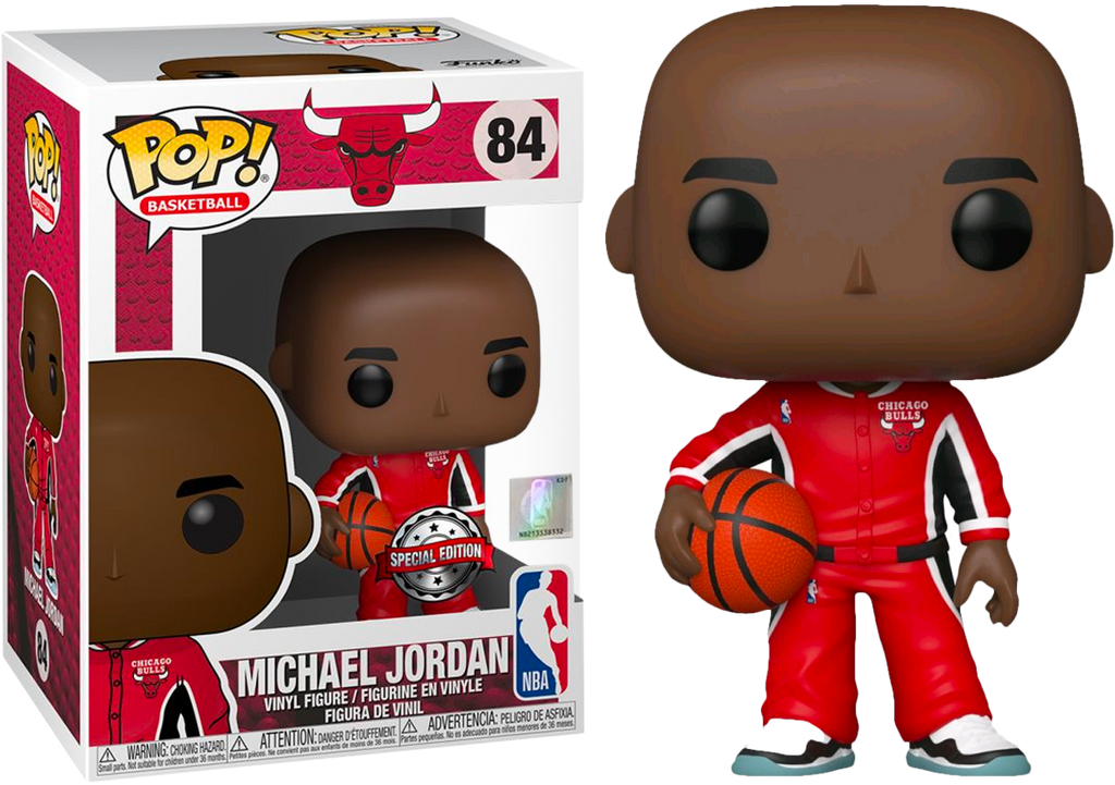 POP! NBA - Chicago Bulls - Michael Jordan (Warm Ups) Special Edition Exclusive