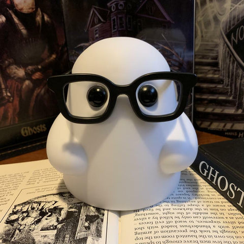 Bimtoy Tiny Ghost Nerdy Glasses Limited Edition Reis O'Brien